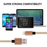 iPhone를 위한 USB 책임 Sync 데이터 케이블에 번개 충전기 케이블 나일론 땋는 8pin