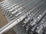 TUFFO caldo del tubo della serratura di torsione dell'armatura galvanizzato