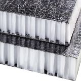 Thermoplasitcのガラス繊維ファブリック
