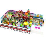 Cour de jeu d'intérieur personnalisée de petite taille de modèle de série de sucrerie