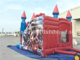 Inflatables Castle rimbalzante, Inflatables Bouncer con Slide