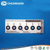 5% - 10% - 60% de Kaart van de Sensor van de Vochtigheid van Drie PUNT, het Etiket van de Indicator van de Vochtigheid