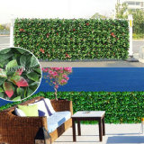 Naranja Hojas Hedge Valla Valla Artificial Artificial Hedge IVY Mat