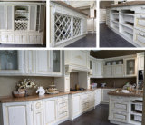 N&Lの中国からの白い純木DIYの食器棚