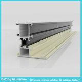 Perfiles de anodización del aluminio del color de la diferencia de la fábrica de aluminio