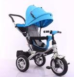 Frame de aço do triciclo do bebê do projeto do modelo 2016 novo triciclo de giro do bebê de 360 graus com 3 rodas