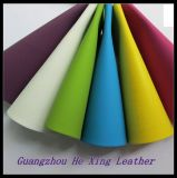 Синтетическая кожа PU PVC для софы, мешка, мебели (Hx-1085