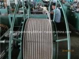 Máquina acanalada de la manguera del agua del metal flexible