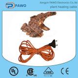 cabo de aquecimento antigelo da planta do PVC 48W de 8m