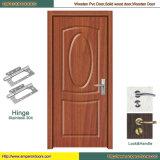 Porte en bois en bois de porte de porte en verre de porte de forces de défense principale de porte de PVC