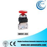 Pneumatische Miniatuur Mechanische Kleppen van Exe mov-01, mov-02, mov-03, mov-03A