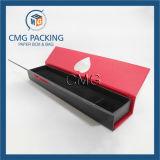 Caja de embalaje de la visualización determinada de la joyería del corte del corazón (CMG-PJB-035)