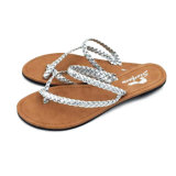 Multi Straps Handmade TPR Simple Women Slippers
