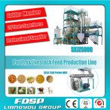 닭 농장 (SKJZ5800)를 위한 직업적인 공급자 4t/H 작은 생산 공장