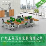 Após a mobília de escritório da mesa de escritório dos assentos da forma 6 do mercado