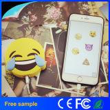 Заряжатель батареи телефона 2600mAh Poops шаржа Emoji портативный