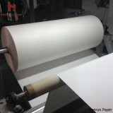 rolo do papel de transferência do Sublimation 30/45/55/70/80/100/120GSM para a tela do Sublimation