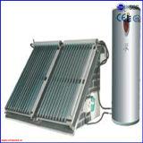 Calefator de água solar separado ativo pressurizado popular da tubulação de calor 2016