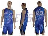 Pallacanestro professionale Jersey del giocatore del randello e di squadra degli abiti sportivi/pallacanestro Jersey di Camo