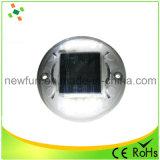 반대로 높은 온도 방벽 플라스틱 LED 스트로브 태양 도로 장식 못