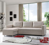 Sofá de canto moderno da sala de visitas