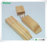 Nuevo palillo de madera de la memoria del USB con el precio de fábrica (WY-W05)