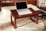 固体灰の木製の執筆&Executiveオフィス表(WD009)