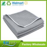 Серый цвет тканей чистки 13X13inch Dishcloths Weave Waffle Microfiber