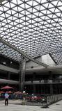 Строя полуфабрикат стальная стеклянная крыша для торгового центра