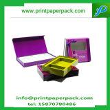 Caja de cartón de lujo de los cosméticos del diseño/caja del perfume