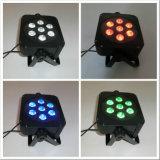 DMX512 Rgbaw 15W drahtlose Uplight NENNWERT LED Beleuchtung