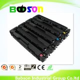 Cartucho de tonalizador compatível da impressora de laser da cor para o preço favorável da venda quente de Hpcf400A/CF401A/CF402A/CF403A (201A)