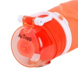 УПРАВЛЕНИЕ ПО САНИТАРНОМУ НАДЗОРУ ЗА КАЧЕСТВОМ ПИЩЕВЫХ ПРОДУКТОВ И МЕДИКАМЕНТОВ одобрило, силикона доказательства утечки силикона доказательства утечки BPA бутылка для спорта, напольная, перемещение спортов свободно складного складная складная, ся, взбирающся