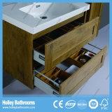 Meubles neufs de salle de bains de type de chêne de Bath de Module de modèle à extrémité élevé moderne d'élément (BF118M)