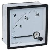 Panneau indicateur analogique à bobine mobile voltmètre
