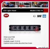 Diodo emissor de luz de alumínio que adverte Lighthead (LTDG-T4)