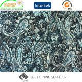 Polyester-beiläufige Abnützung-Zwischenlage-Futter 100% gedruckt, Gewebe zeichnend