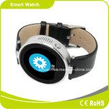 IOS de support de prix usine et email rond SOS Smartphone Smartwatch des appels SMS Facebook de synchro d'écran tactile de SYSTÈME D'EXPLOITATION androïde