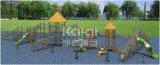 Крупноразмерная деревянная спортивная площадка Watchout напольная с каналом и скольжениями Crawl