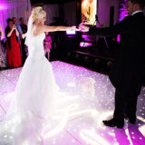 Aangemaakte LEIDEN van de Ster van het Glas IP55 Witte of RGB Dance Floor voor het Huwelijk van de Partij