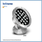 Éclairage sous-marin extérieur chaud de la lampe 18W IP68 DEL Uplight 18W DEL de fontaine de la vente DEL (HL-PL18)