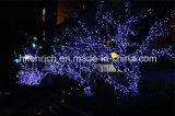 Luz feericamente impermeável da corda do diodo emissor de luz para a decoração da árvore