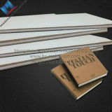 Tarjeta de viruta gris de papel reciclada y tarjeta de papel para hacer los rectángulos