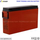 batteria ricaricabile di potere sigillata terminale anteriore di 12V 150ah