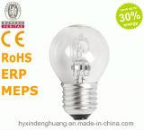 Lampe d'halogène de G45 230V 42W E14/E27/B22 Eco