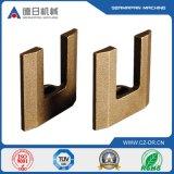 Carcaça de areia de cobre personalizada da folha placa de cobre