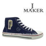 Lo nuevo de media caña de lona de los zapatos de tela zapatos 1057-A