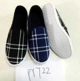 最も熱く安い人の靴の注入のズック靴の余暇の靴(PY722)
