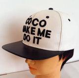 El Snapback ajustable del sombrero de la manera de la aduana se divierte la gorra de béisbol