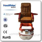 Tazón de fuente de cristal de la silla del BALNEARIO de Pedicure